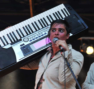 Piano Barbar le dimanche 18 septembre 2016 au festival Trois P'tits Points à Montardit en Ariège
