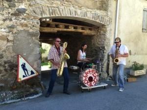 Sax PeaceTools le samedi 17 septembre 2016 au festival Trois P'tits Points à Montardit en Ariège